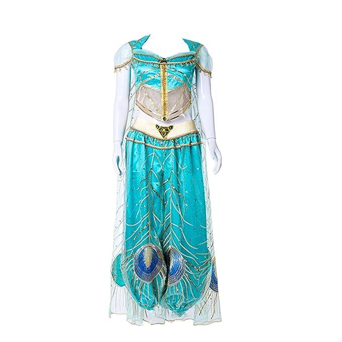 Amazon.com: Disfraz de princesa Aladdin Jasmine de STH ...
