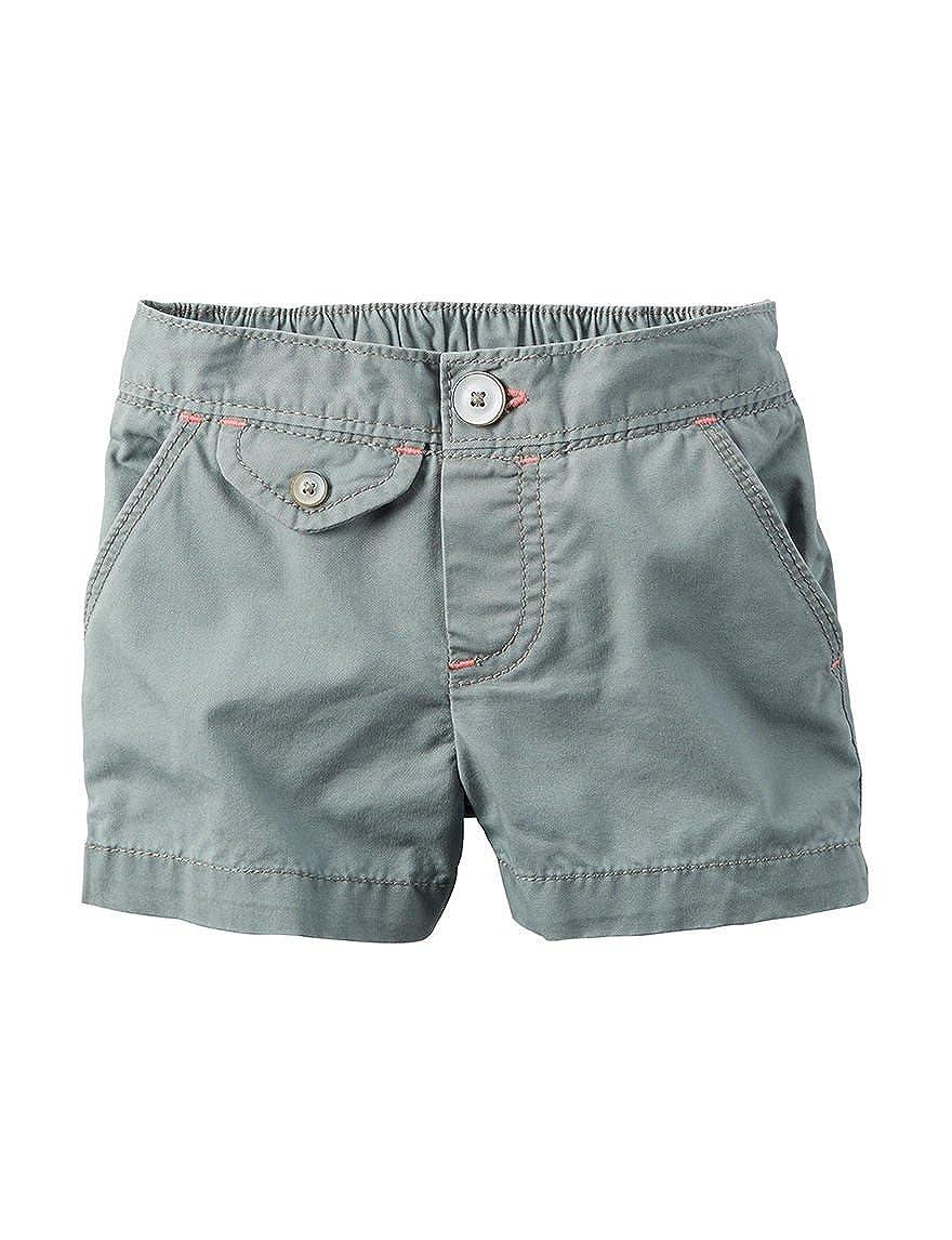 Carters Girls Flap-Pocket Shorts