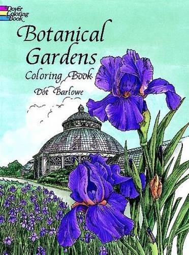 botanical-gardens-coloring-book-dover-nature-coloring-book