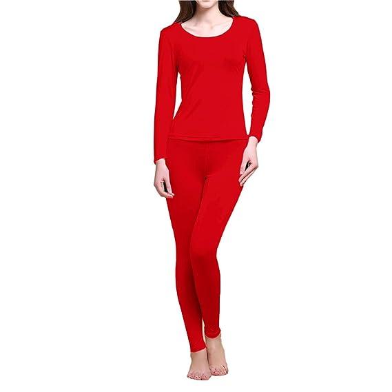 91efd54149 Paradise Silk Pure Silk Knit Women Thermal Long Johns Set at Amazon Women s  Clothing store
