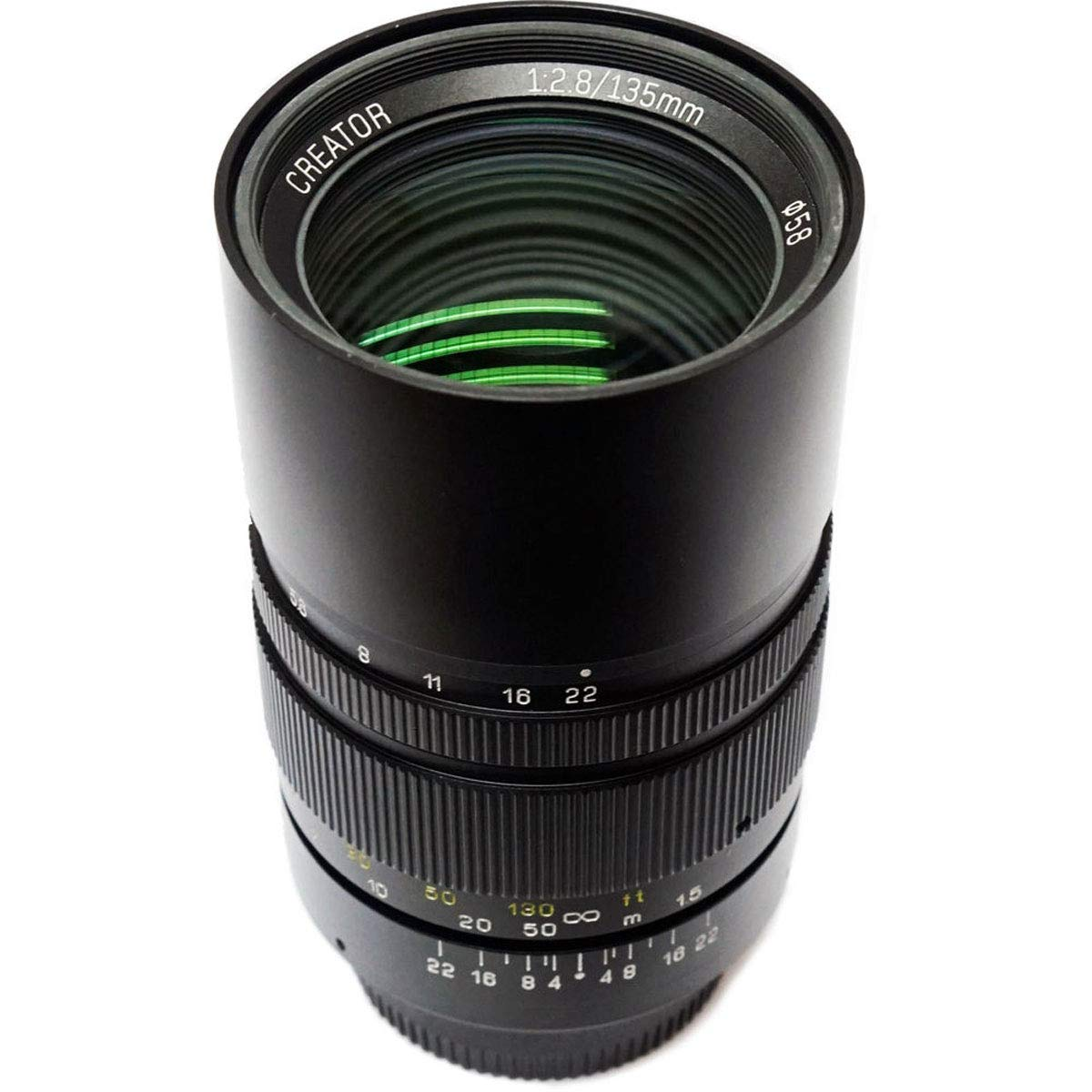 Mitakon Zhongyi Creator 135mm f/2.8 フルフレーム プライムバージョンII レンズ Canon EFマウントカメラ用   B07K6BYBYR