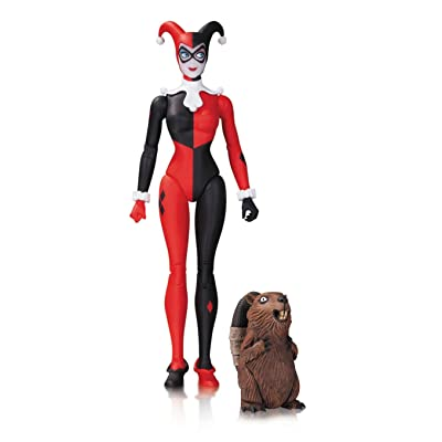DC Collectibles Comics Designer Series: Amanda Conner Traditional Harley Quinn Action Figure: Toys & Games