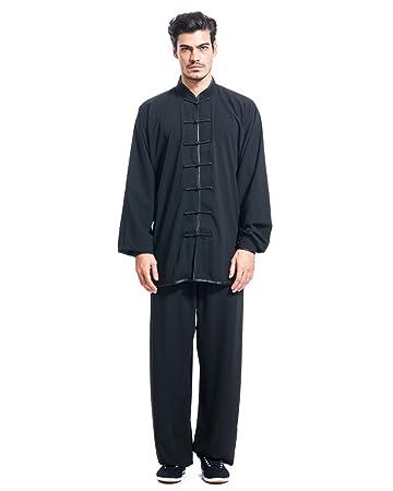 Amazon.com: ICNBUYS Kung Fu Tai Chi - Uniforme para hombre ...