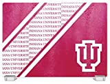 Duck House NCAA Indiana Hoosiers Tempered Glass Cutting Board with Display Stand