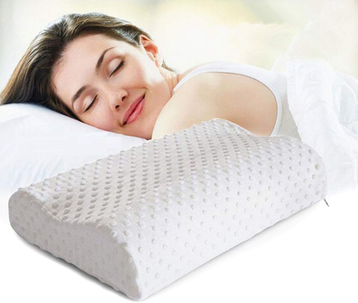 Widewings Orthopaedic Memory Foam Pillow Neck And Back Support