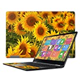 Mightyskins Skin Compatible with Lenovo Yoga 710 15.6' Wrap Cover Sticker Skins Sunflowers