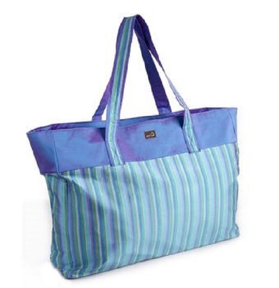 Della Q Agnes Extra Large Knitting Tote 405-1 Ocean