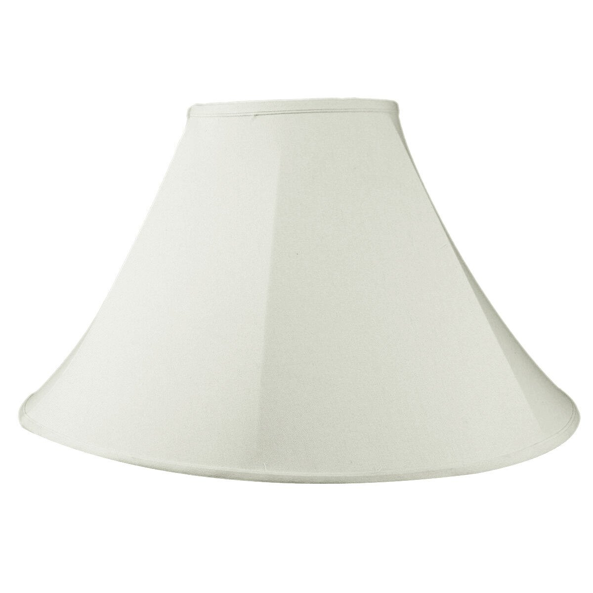 8x22x14 Coolie Lamp Shade Premium Light Oatmeal Linen with Brass Spider fitter by Home Concept - Perfect for table and floor lamps - Large, Off-white by HomeConcept (Image #7)