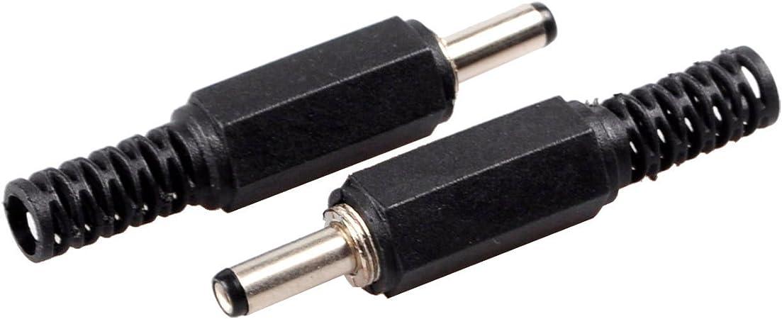 DC 5.5MM X 2.5MM a 5.5MM X 2.1MM Adaptador Conector Recto