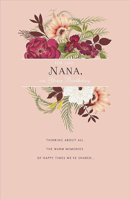 RHS - Tarjeta de felicitación de cumpleaños para abuela ...