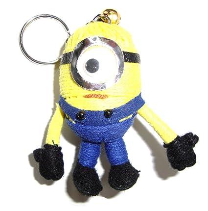 Amazon.com: Minion cadena de Voodoo Doll Llavero: Toys & Games