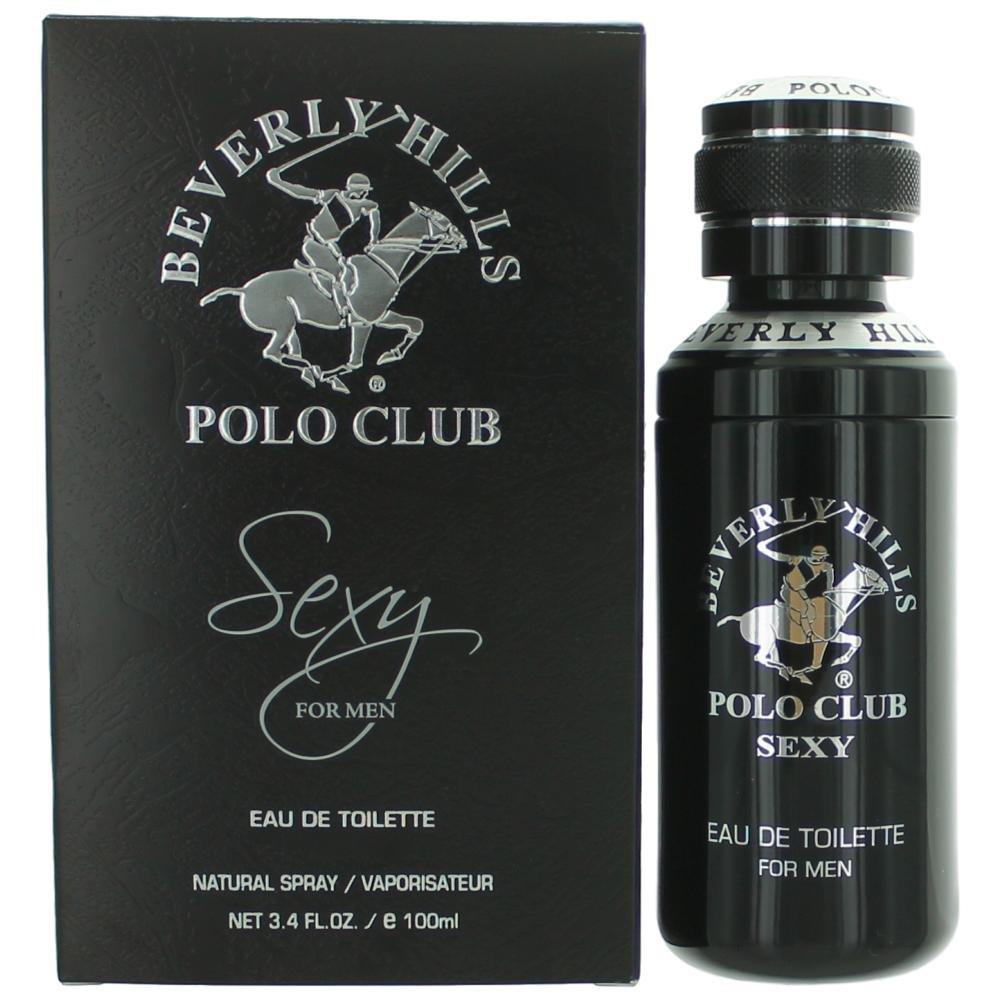Beverly Hills Polo Club Sexy Eau de Toilette Spray for Men, 3.4 Ounce