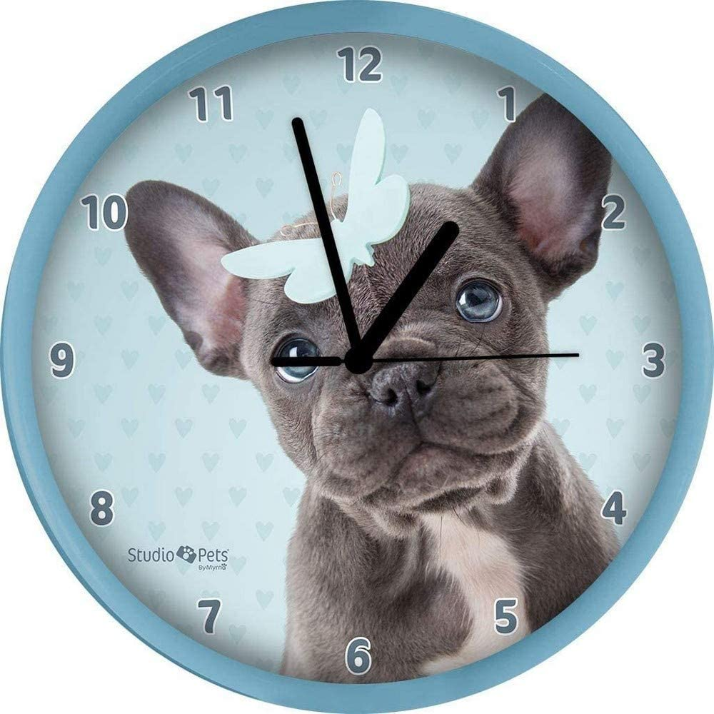 Plastic Taille Unique Universel plenty gifts 68305 Horloge French Bulldog Studio Pets