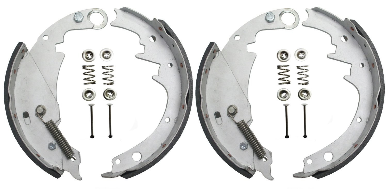 New 10''x2-1/4'' Galvanized Hydraulic Marine Trailer Brake Shoes Replacement Kits (2 pairs) - 21033/21043