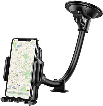 Mpow - Soporte de móvil para Coche, Parabrisas, Soporte para ...