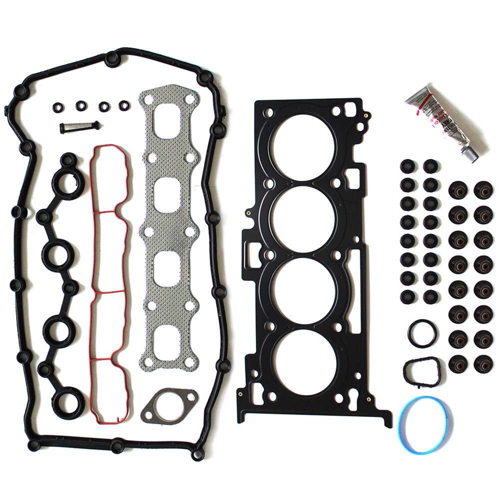 AUTOMUTO Engine cylinder head gasket sets compatible with 2007-2015 Jeep Patriot 2.0 L