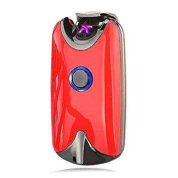 Modesty Encendedor Electrico - lighter Mechero Eléctrico Doble Arco Mechero Eléctrico USB Encendedor Electronico Recargable Sin Llama