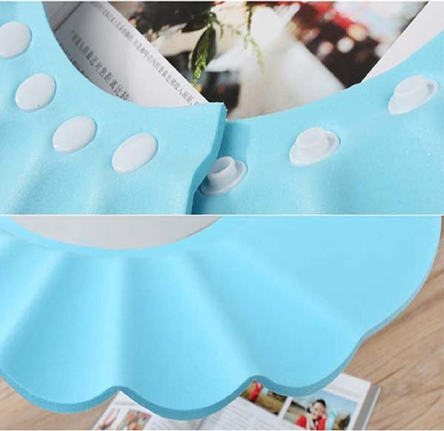 Susen Safe Shampoo Shower Bathing Protect Soft Cap Hat for Baby