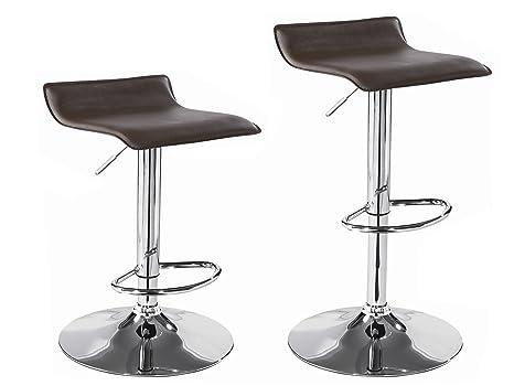 Bc elec blk coppia di sgabelli alti sedie da bar