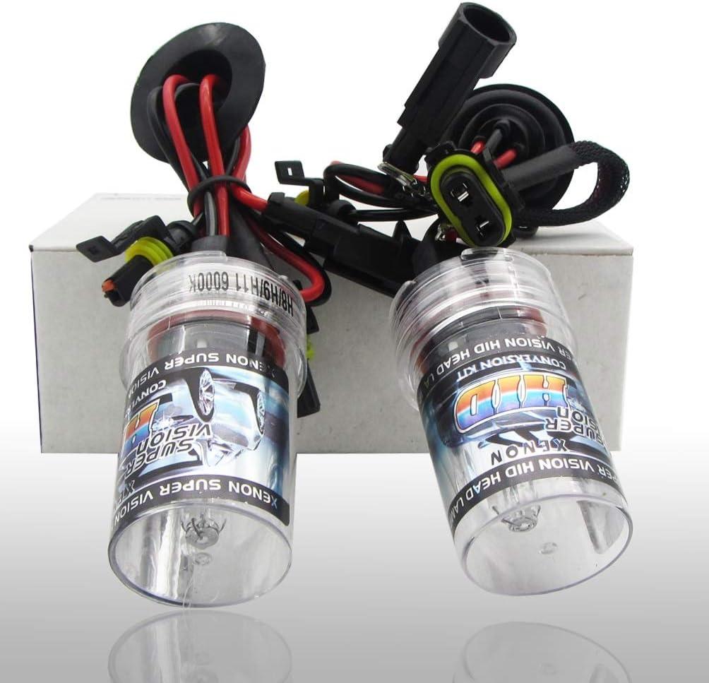 Bright HID Xenon 55W Headlight Conversion KIT H1//H3//H4//H7//H11//9005//9006//880//881//9004//7 waterproof Style : 9005//HB3//H10-12000K