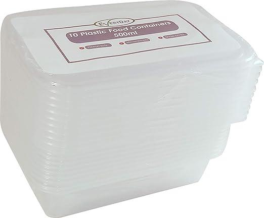 Contenedores de alimentos seguros para microondas y congelador ...