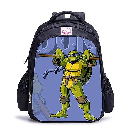 DWYRD Mochila para Niños Impresión 3D Tortugas Ninja ...