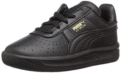 ae149e2d2c PUMA Baby GV Special Kids Sneaker Black Team Gold, 4 M US Toddler