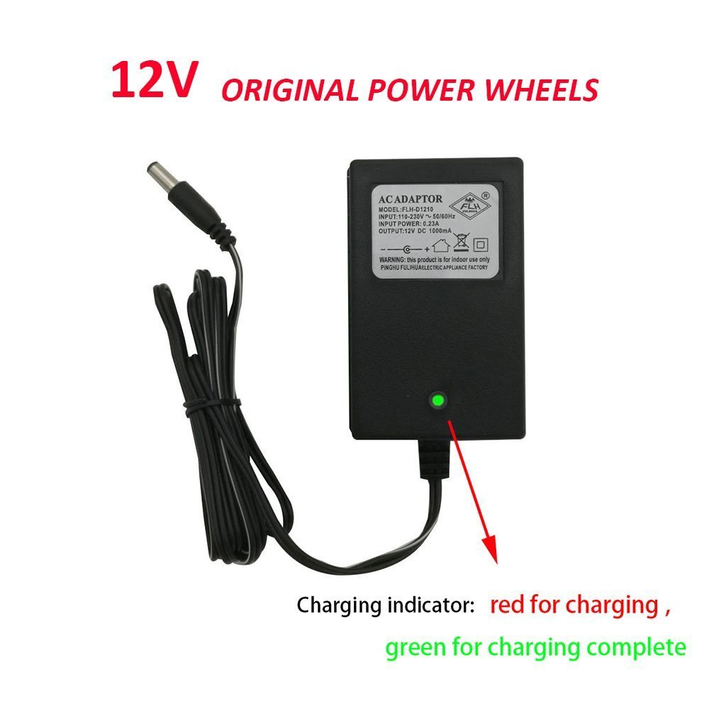 83f7c69e Buy 12V Kids Powered Ride On Car Universal Charger with Charging ...