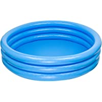INTEX - Piscina Hinchable 3 Aros, Color Azul