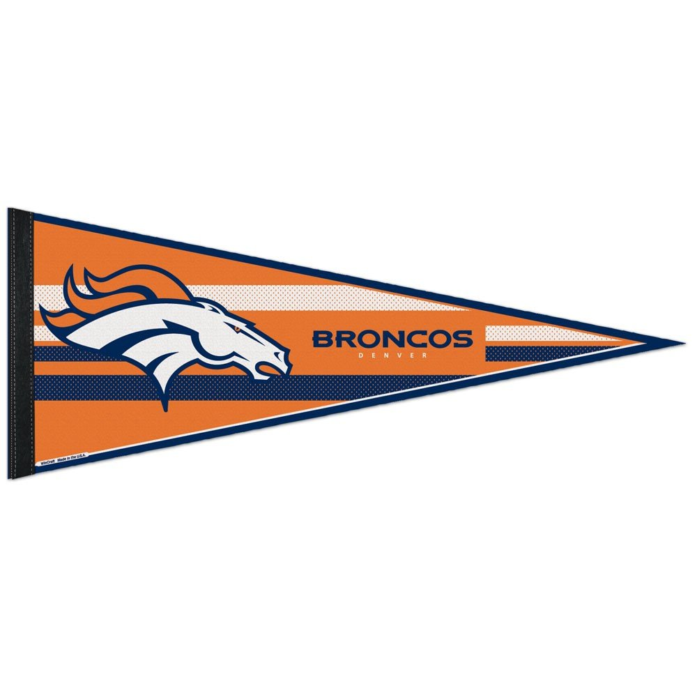 Denver Broncos Official NFL 30cm x 80cm Felt Pennant by Wincraft   B00AWVYLMK, Quality Space b7395191