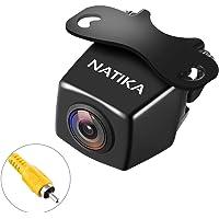NATIKA 720P Backup/Front View Camera, IP69K Waterproof Starlight Night Vision Full HD and 210 Degrees Wide View Angle…