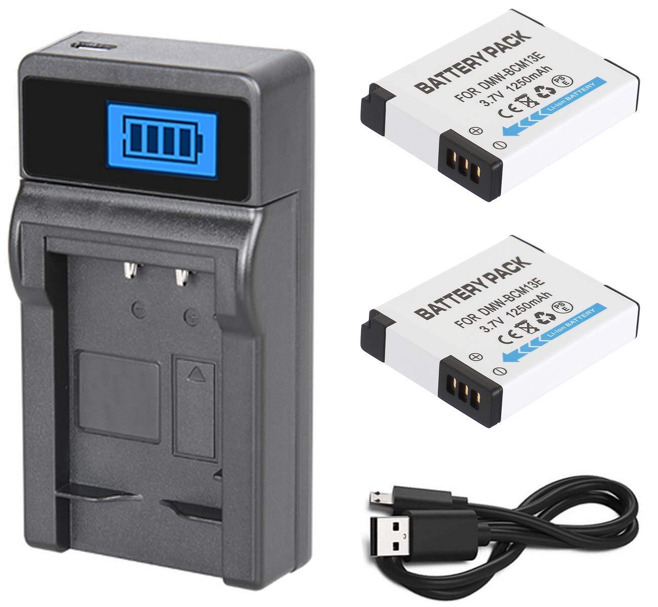 Batería (2 Unidades) y Cargador USB LCD para cámara Digital ...