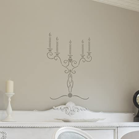 Diy stencil wall art