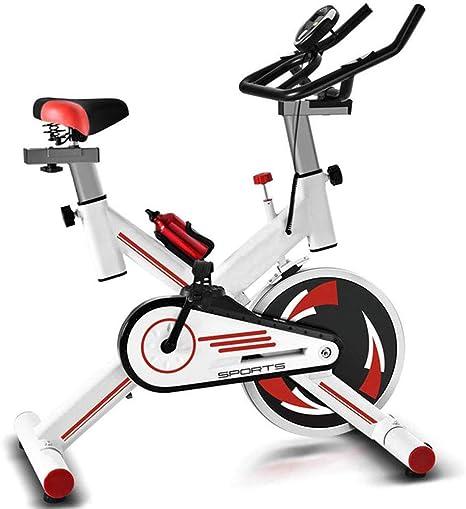 Bicicleta Estática, Cómodo Asiento Y Mango con Pantalla LCD Sensor ...