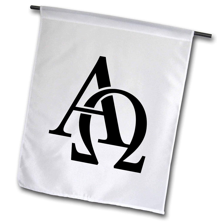 Amazon.com: evadane – Signs – Alpha Omega – Banderas: Jardín ...