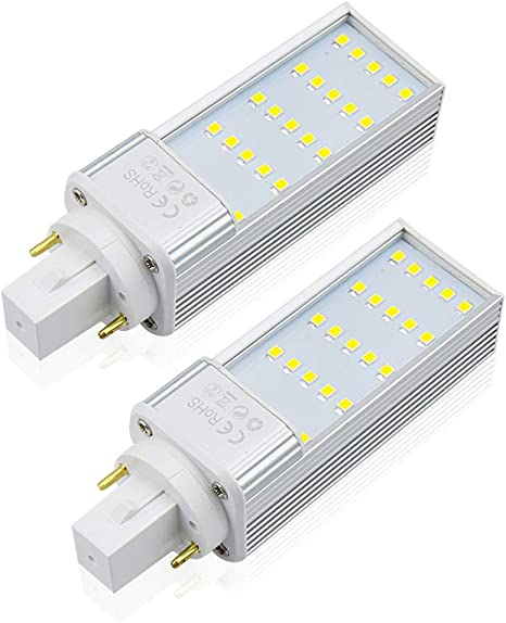 Philips PL-C 13W//30 13-Watt Fluorescent Lamp Light Bulb 2-Pin G24d-1 3000K 10