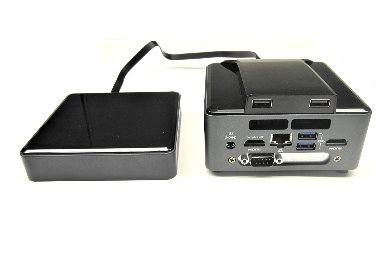 Micro SATA Cables Stack-Able Memory Enclosure Base Unit for 7th Gen Intel NUC