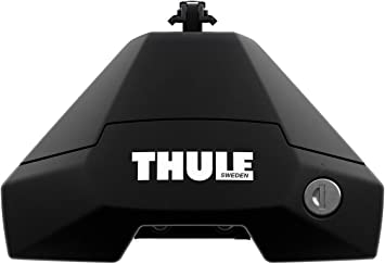 Easy to Install Load Carrier Feet Thule Evo Raised Rail Foot Clamp Set 7104