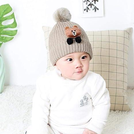 Amazon.com   Myzixuan New mild Winter hat Ear Cap Winter caps Baby hat Kids  1-4 Years Old   Garden   Outdoor b607b9db5b8