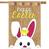 Cheap Briarwood Lane Easter Burlap House Flag Bunny Chick 28″ x 40″