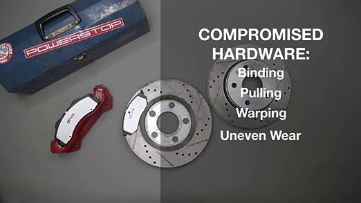 Powerstop Brake Pad Sets 2-Wheel Set Rear Driver /& Passenger Side New 16-683