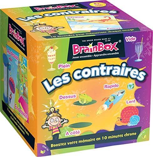 BrainBox Les Contrares Asmodee - Juego de Mesa para niños: Amazon.es: Juguetes y juegos
