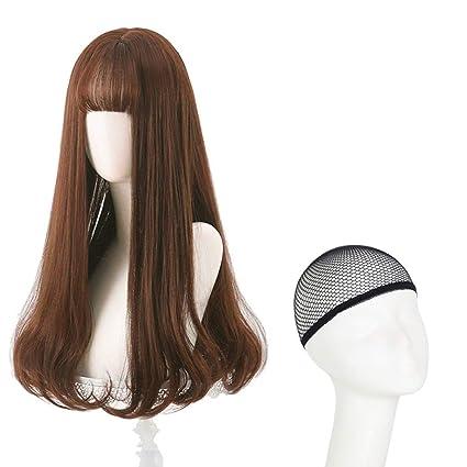 Peluca Pelo largo femenino Pelo largo y rizado Big Wave Cabello ...