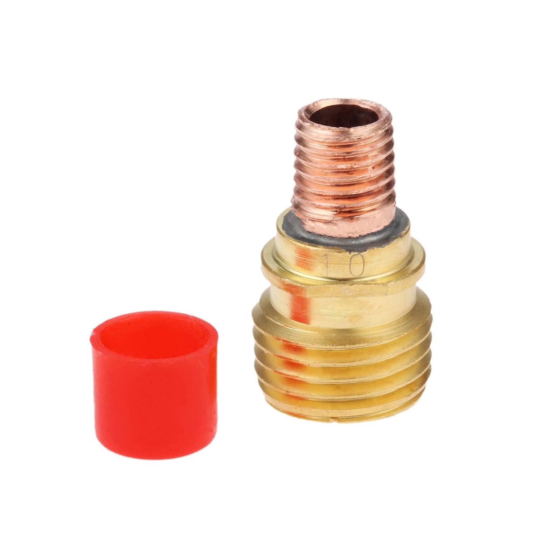 Mtsooning 5Pcs 45V27 Gas Len Collet Body 3.2mm 1//8 for WP-17 18 26 TIG Welding Torch