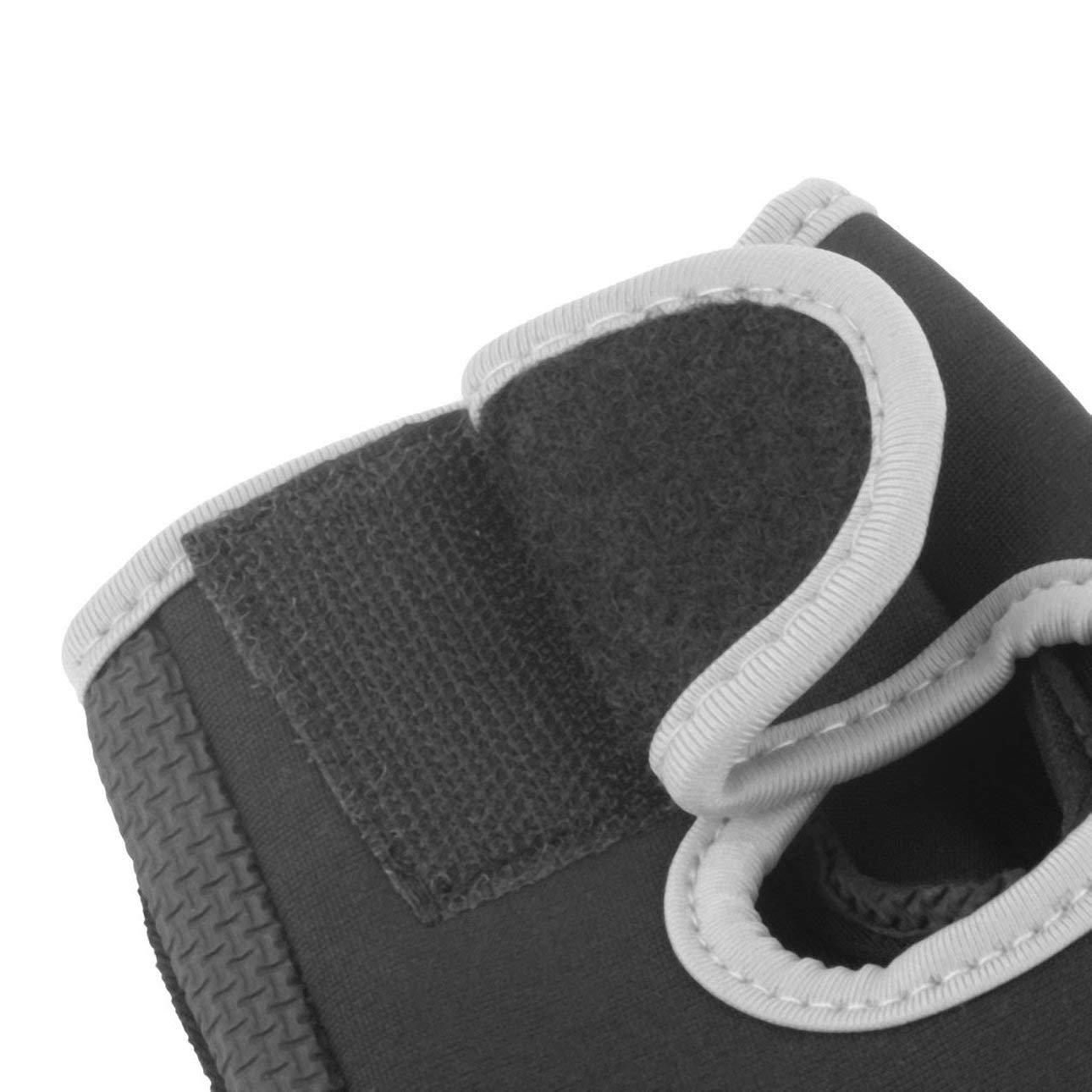 Pudincoco Medio Dedo Guantes de Entrenamiento Durable Deportes Mitones Guantes de Levantamiento de Pesas para Hombres Mujeres Ejercicio Entrenamiento Ciclismo Mitones