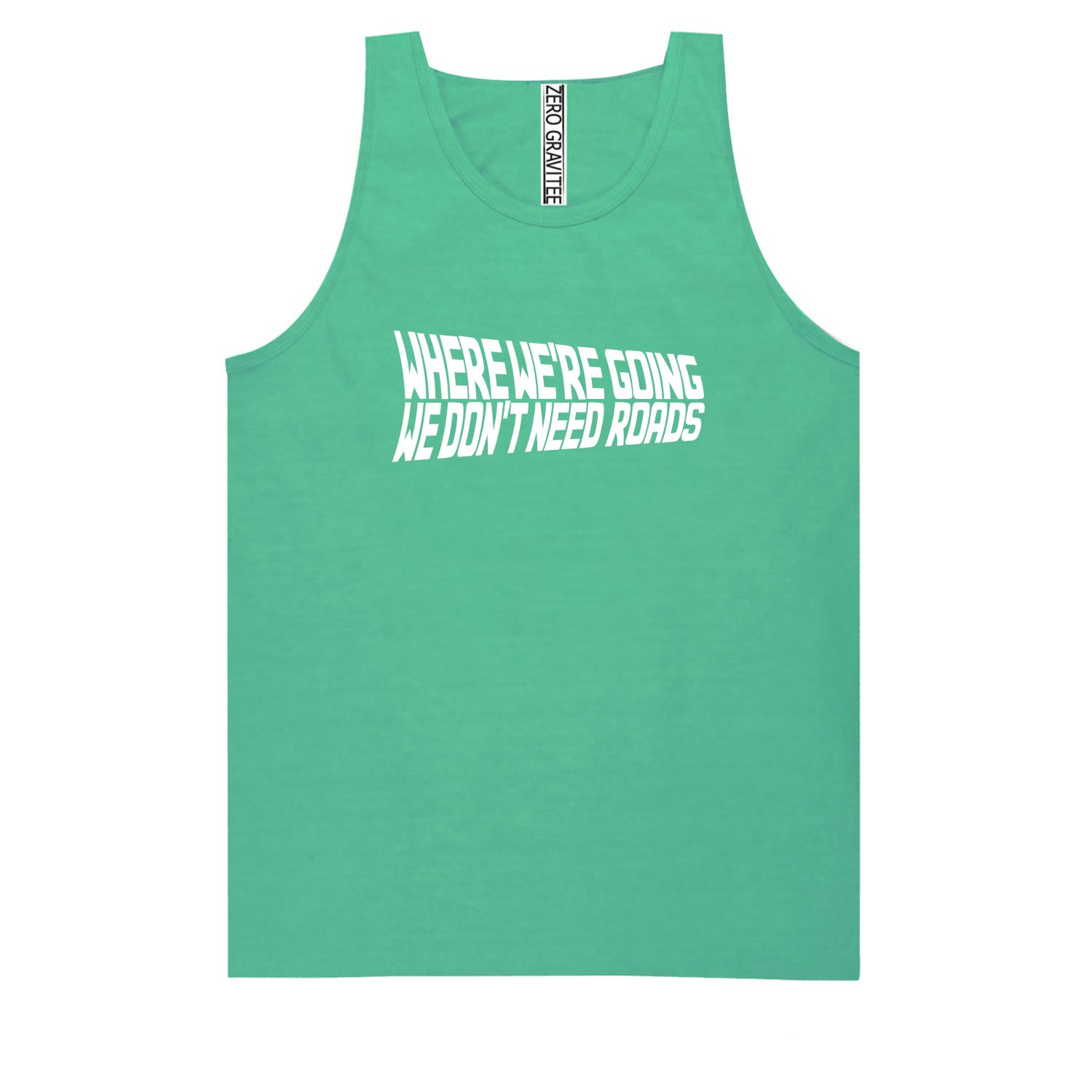 Move Forward Adult Pigment Dye Tank Top