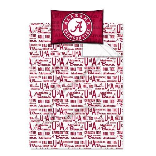 Northwest Alabama Twin Sheet Set Alabama Crimson Tide Twin Comforter