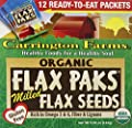Carrington Farms Organic Milled Flax Seed, 12 Count (Pack of 6) by Carrington Farms