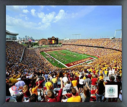 Tcf Bank Stadium Minnesota Golden Gophers 2010 Photo  Size  12  X 15   Framed