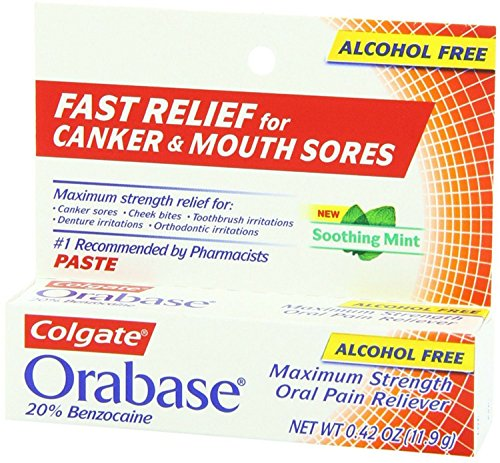 Price comparison product image Colgate Orabase Paste 12 g (Pack of 3)